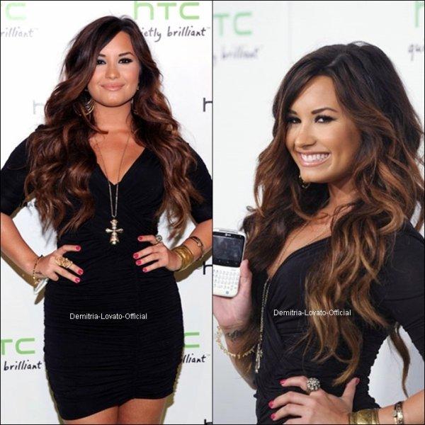 19 Juillet 2011:Apparence: Demi Lovato était présente au  HTC Status Social Launch Event dans les studio Paramount a Hollywood, Californie