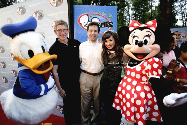 02 Mai 2008: Evenement : Demi a était vue sur le tapis rouge des Disney Channel Games 2008