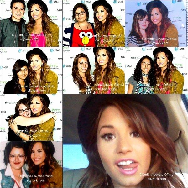"""25 Août 2011 : Candids : Demi est allée en vélo avec son ami au restaurant """"Mel's Diner"""" pour déjeuner a Los Angeles,CA"""