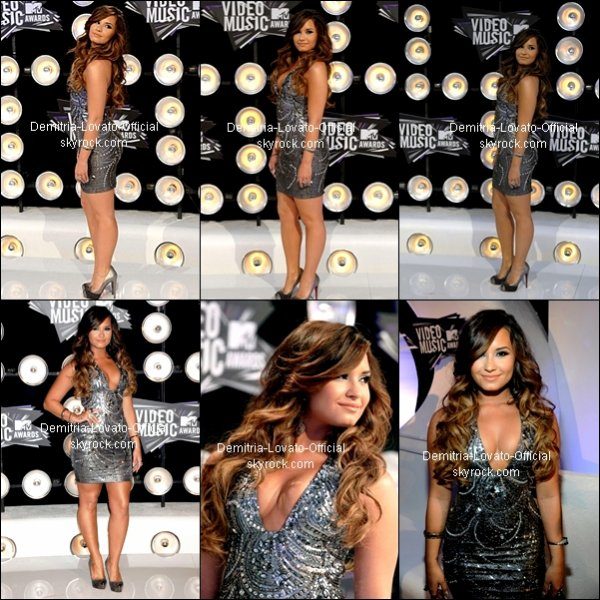 "28 Août 2011: Evenement : Demi a assister au "" 28e édition annuelle des MTV Video Music Awards"" qui ses dérouler au  Nokia Theatre de Los Angeles, CA"