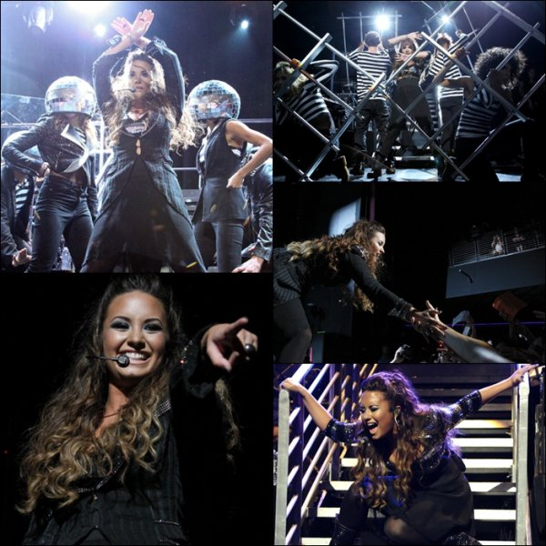 23 Septembre 2011 Demi a donnée un concert  au Club Nokia de Los Angeles,CA