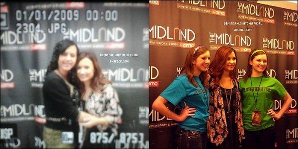 """. 22.11.2011: Demi a poursuivi sa tournée en faisant un concert a """"Kansas City""""dans le Missouri ."""