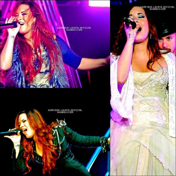 .25.11.2011: Demi réalisée un concert pour sa tournée a Houston dans le Texas   .