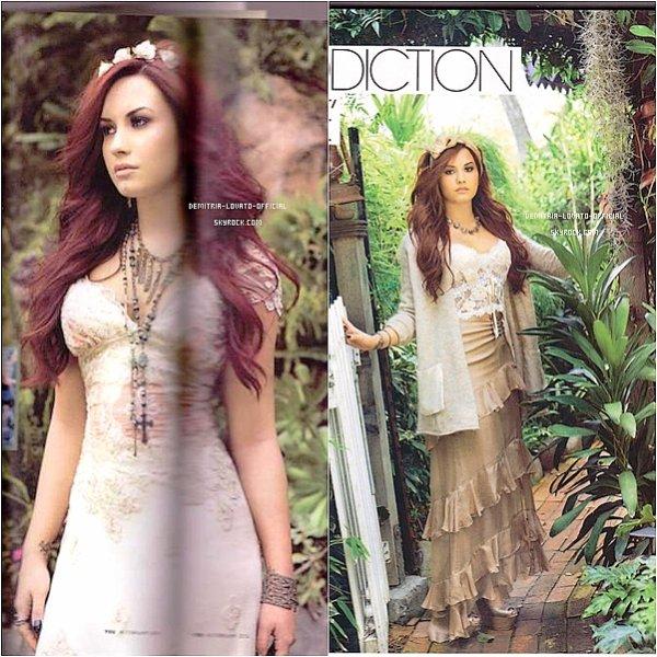 .Demetria a fait l'a couverture du magazine  « You »  un magazine Irlandais du moi de Fevrier  .