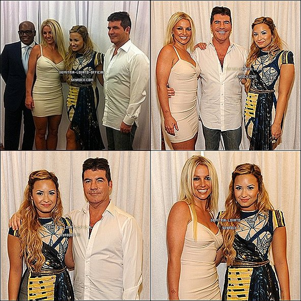 -14.05.2012:Demi est allée a la soirée  de la  FOX Upfronts au Beacon Theatre de New-York, NY Demi est allée a cette évenement pour confirmé la rumeur: Demi est  officiellement jurée dans l'émission X-Factor US   -