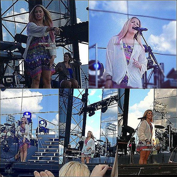 -23.06.2012 : Demi a continuer la tournée à Hershey, dans l'état de Pensylvannie, USA -