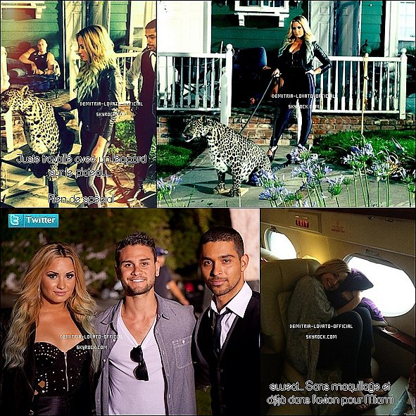 -FLASH-BACK30.07.2012 Demi a fait photoshoot pour l'association Voto Latino à LA Son ex-boyfriend Wilmer Valderrama était aussi dans le shoot et apparemment toujour amoureux de Demi   -
