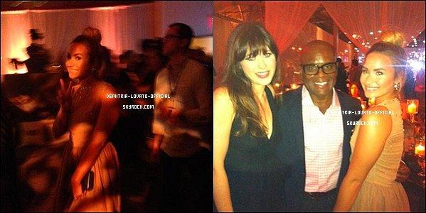 -10.09.2012: Demi Lovato a assistée a la fête donnée par la chaîne FOX à Los Angeles -
