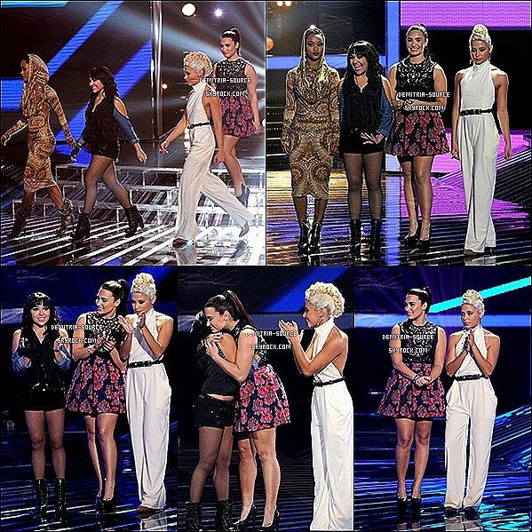 -08.09.2012 Découvre l'épisode 13 et 14 de x-Factor ou Demi est Juge -