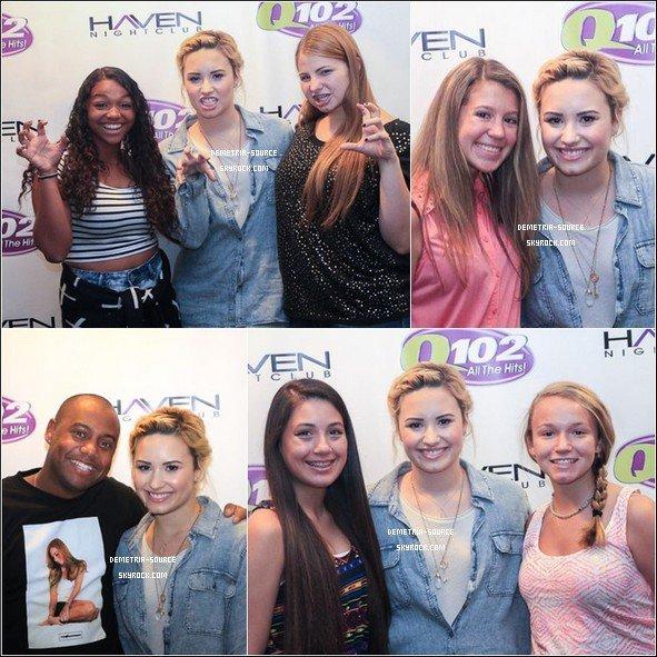 -18.07.2013 : Demi Lovato a était vu quittant son hôtel à Philadelphie -