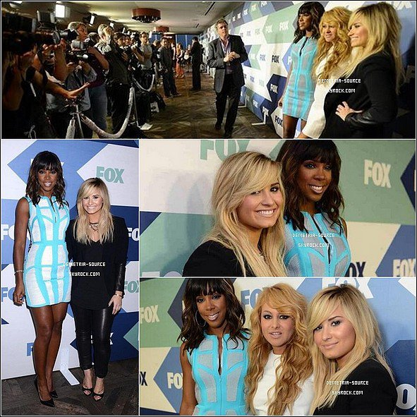 -07.08.2013 : Demi était a l'événement organisé par la FOX All-Star Party  à West Hollywood -