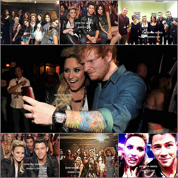 -11.08.2013 : Demetria était présente au Teen Choice Awards 2013 à Los Angeles Elle a gagnée 4 awards Choice tv personality, Best Female Singer, Best Female Single & Candies Style Icon et a chanté MIT -