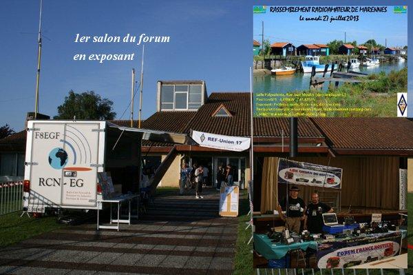 Compte rendu: Pour le 1er Salon Radio de Marennes du forum Les Ondes du Routier