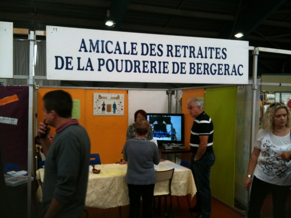 13 ème Forum des Associations à Bergerac (le 21-22/09/2013)