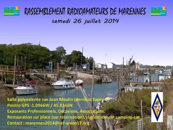 26-07-2014: Salon Radio Marennes (dep.17)