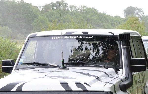 Installation Antenne Cibi sur un 4x4 et SUV