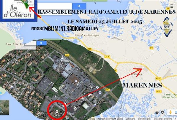25-07-2015 Salon Radio de Marennes avec la FFODR