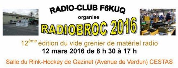 C.R.: Radiobroc Cestas (12 mars 2016)