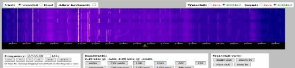 Sur le Sud-Ouest France WebSDR 11m (Cibi)