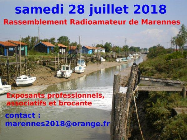 Salon Radio... REF17 de Marennes (dpt.17) (samedi 28/07/2018)