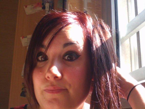 Cheveux rouges !!!
