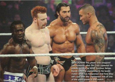 Randy et son équipe