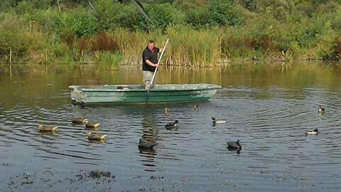 Un petit tour en barque !  ;)