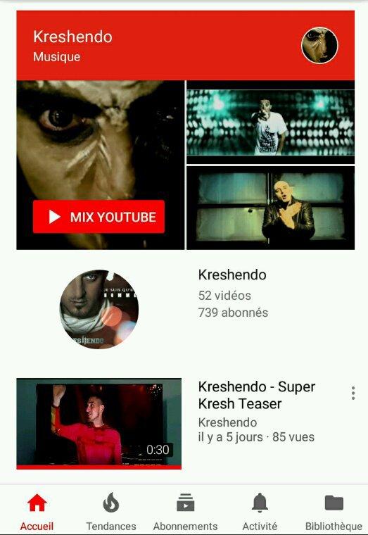 Abonné vous a la chaine Youtube la famille