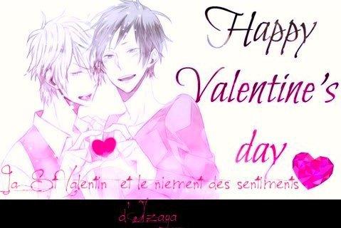 La St Valentin et le niement des sentiments d'Izaya : Résumé