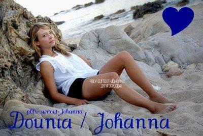 Johanna Marci alias Dounia Coesens