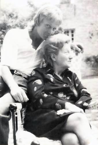 Claude et sa maman Chouffa