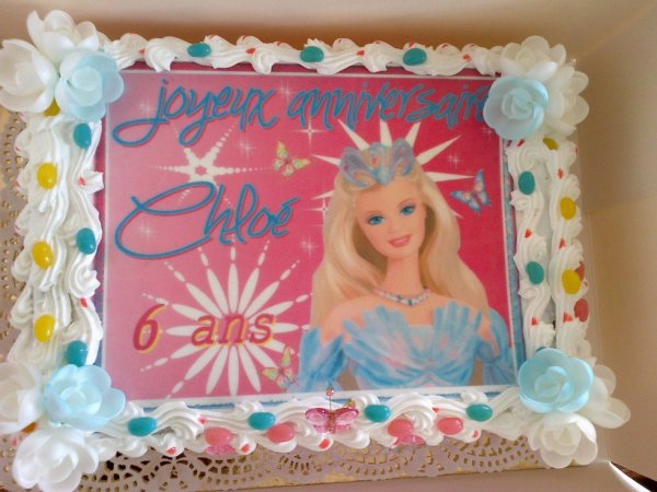 GATEAU BARBIE