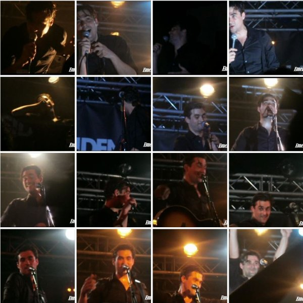 Photo du concert de Florent Mothe le 22 mai