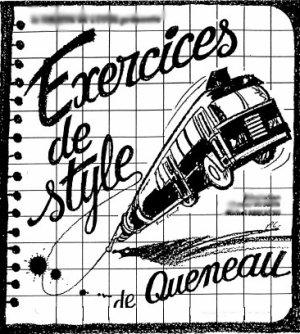Exercices de Styles de Raymond Queneau