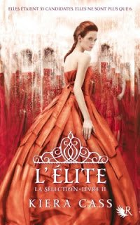 L'élite (tome 2) de Kiera Cass