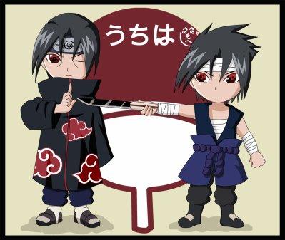 shringan de itachi et sasuke et madara et kakashi