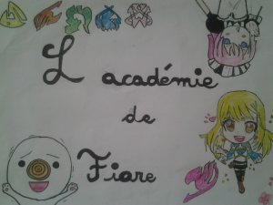 Fiore Academy Chapitre 1