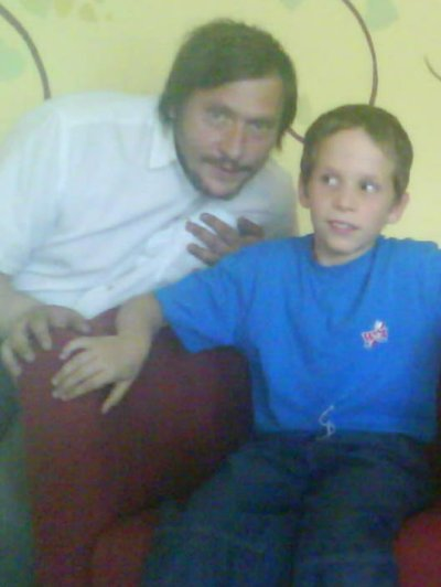 moi et mon fils maxime