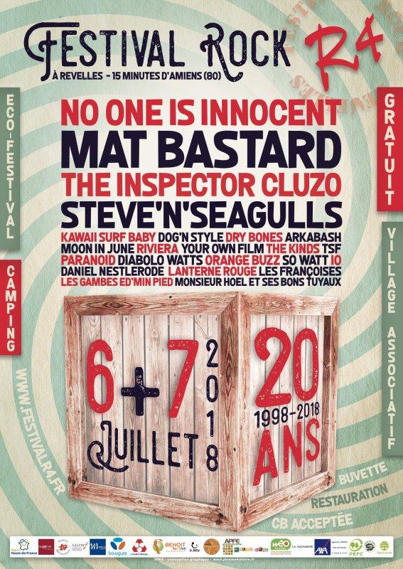 R4 Festival, Revelle, 7 Juillet 2018