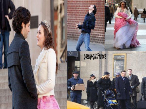 Candids premières images du tournage de la saison 5