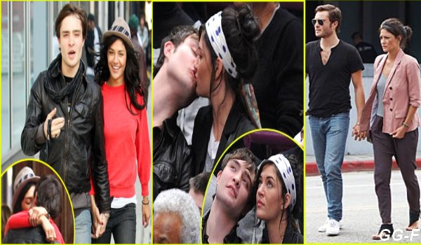Ed Westwick et Jessica Szohr à nouveau en couple ? Si dans la série Gossip Girl, Chuck Bass et Vanessa Abrams ne sont pas vraiment amis, dans la vraie vie, Ed Westwick et Jessica Szohr sont très amoureux.