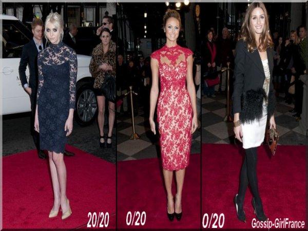 16/02/2012 Taylor Momsen revient en mode Gossip Girl devant Stacy Keibler et Olivia Palermo