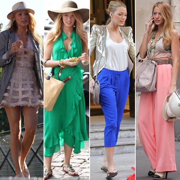 Les 4 Top's Look de Blake. Lequel préfères tu ?