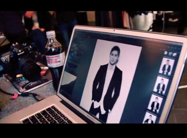 Chace Crawford : ambassadeur de charme pour Coca-Cola Light... en Australie !