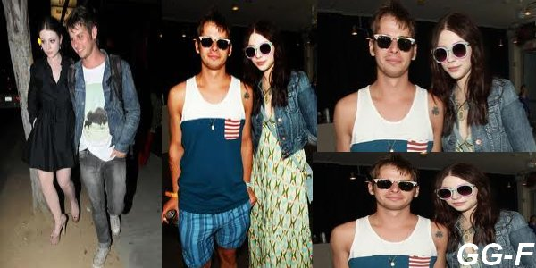 Michelle Trachtenberg : en couple avec Mark Foster