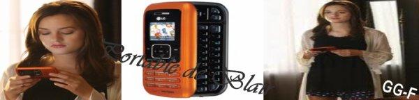 Voici le portable que Leighton Meester a dans Gossip Girl