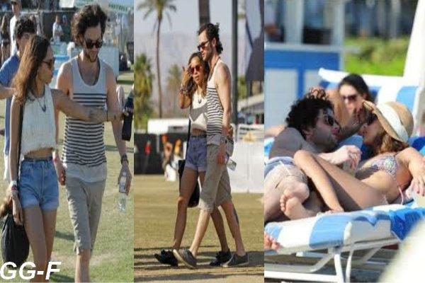 Penn Badgley et Zoë Kravitz plus amoureux que jamais à Coachella