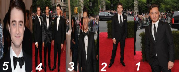 Top People : Le top 5 des mecs les plus sexy au Met Ball 2012