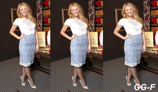 Où shopper la jupe Valentino de Blake Lively en moins cher ?
