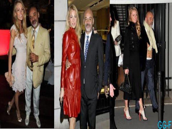 Blake : Un appel du pied à Louboutin pour son mariage
